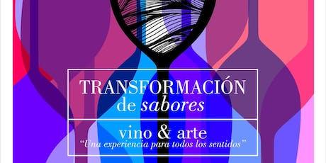 Transformación de sabores: vino & arte entradas