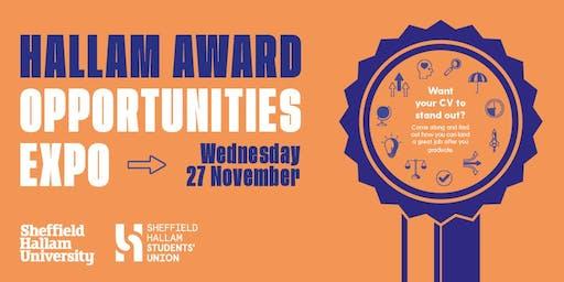 Hallam Award Opportunities Expo