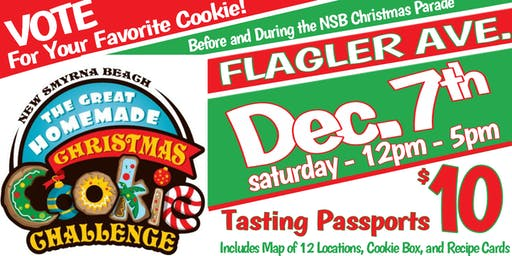 New Smyrna Beach Great Homemade Christmas Cookie Challenge