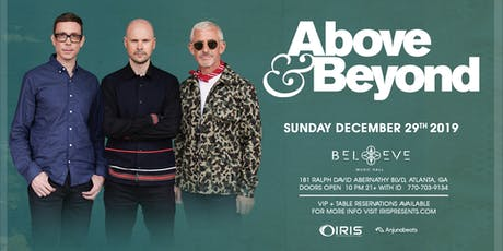 Above & Beyond | IrisESP101 Learn to Believe | Sunday December 29 tickets