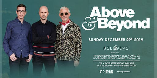 Above & Beyond | IrisESP101 Learn to Believe | Sunday December 29