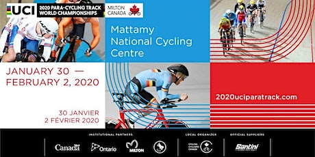 2020 UCI Para-Cycling Track World Championships Milton tickets