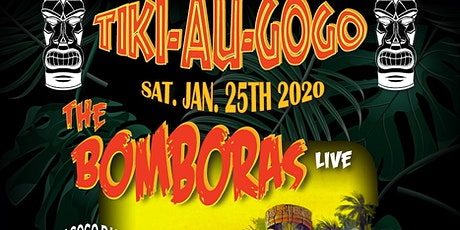 The Bomboras @ Tiki Au Gogo tickets
