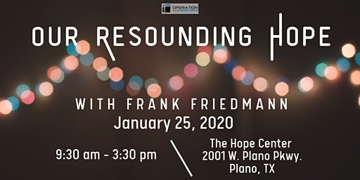 Our Resounding Hope Conference