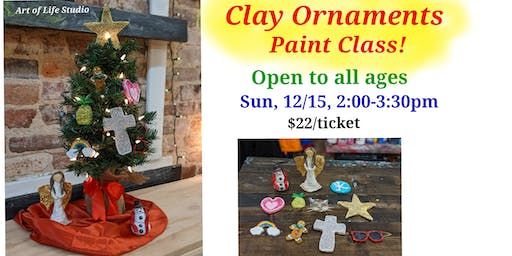 Paint Class: Clay Ornaments