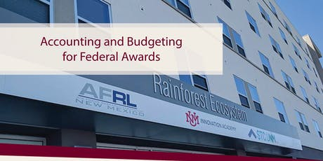 Accounting and Budgeting for Federal Awards tickets