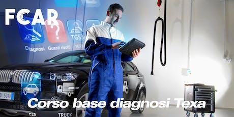 Corso Diagnostics - TEXA IDC5 biglietti
