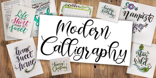 A beginners course in the beautiful art of calligraphy