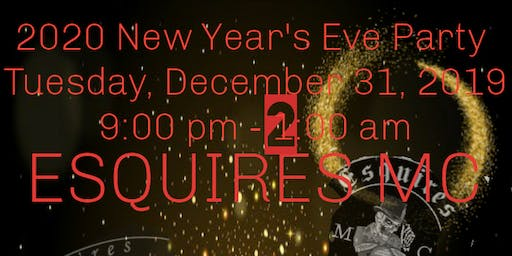 Esquires New Year's Eve party
