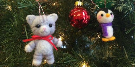 Needlefelting Holiday Ornaments
