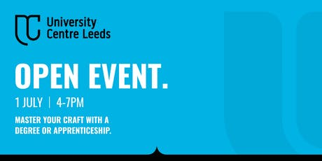 University Centre Leeds Open Event - July tickets