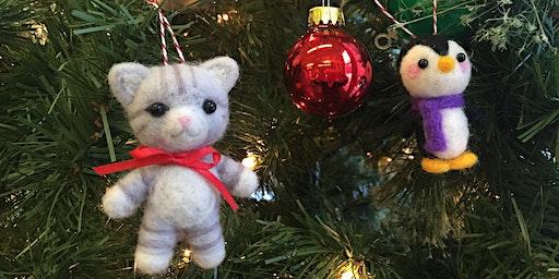 Needlefelting Holiday Ornaments