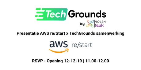 Official opening TechGrounds tickets
