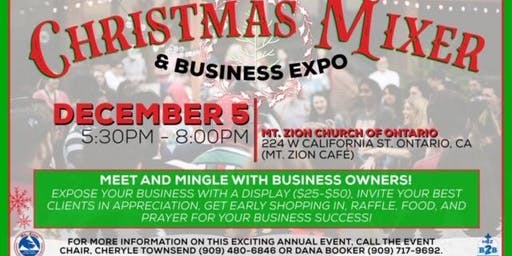 Business to Business Holiday mixer and Business Expo - Mt. Zion