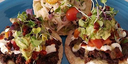 The Little Green Kitchen Pop-Up : Vegan Tacos Nachos Tostadas & Desserts