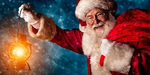 Father Christmas visits Cannon Hall Museum