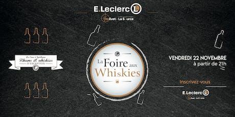 Foire aux Whiskies billets