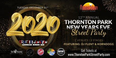 Thornton Park New Years Eve Street Party 2020 tickets