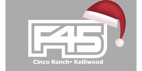 F45 Katy Christmas Party tickets