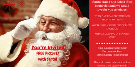 Cookies & Crafts with Santa tickets