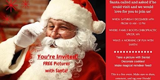 Cookies & Crafts with Santa