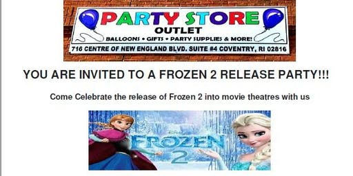 Frozen 2 Release Party * FREE baked goods* 20% OFF Sale *FREE Olaf Pictures