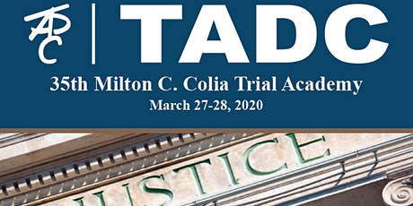 TADC Milton C. Colia Trial Academy tickets