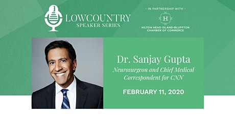 Lowcountry Speaker Series 2020 - Dr. Sanjay Gupta tickets