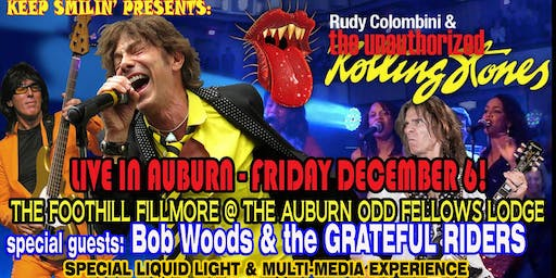 ROLLING STONEs FUN @ THE FOOTHILL FILMORE @ the Auburn Odd Fellows Lodge