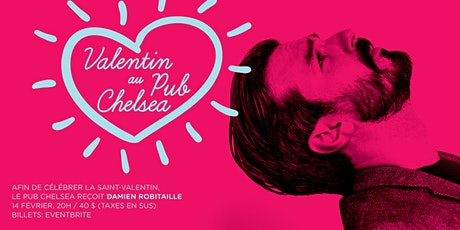 La Saint-Valentin avec Damien Robitaille tickets