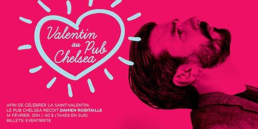 La Saint-Valentin avec Damien Robitaille