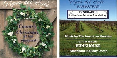 Country Christmas at the Vineyard