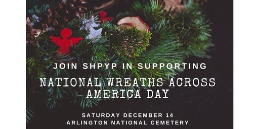 Wreath Laying Holiday Service Event