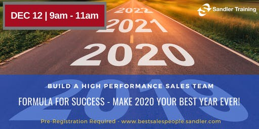 Make 2020 Your Best Year Ever - Formula For Success