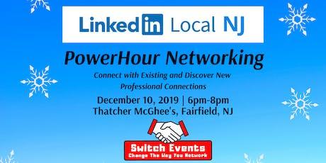 Switch Events LinkedIn Local NJ + PowerHour Event tickets