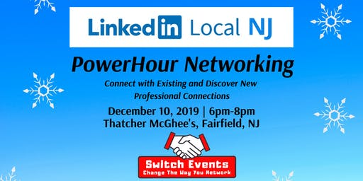 Switch Events LinkedIn Local NJ + PowerHour Event