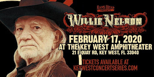 Willie Nelson at The Key West Amphitheater