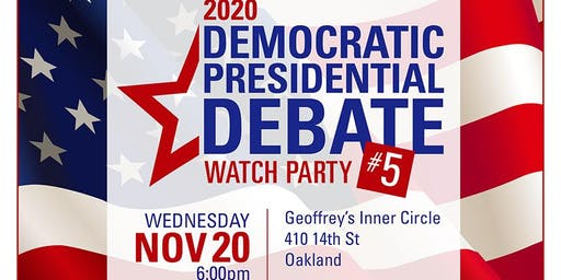 Presidential Debate #5 Watch Party