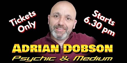 Psychic Supper with Adrian Dobson