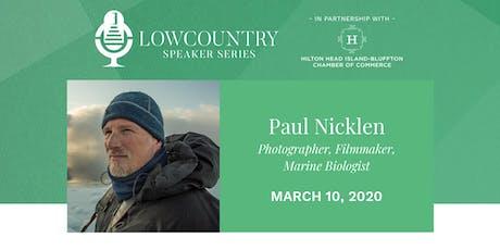 Lowcountry Speaker Series 2020 - Paul Nicklen tickets
