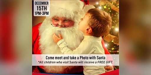 Santa is coming to Woburn! Dec 15th!
