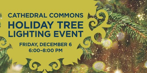 Annual Tree Lighting at Cathedral Commons DC