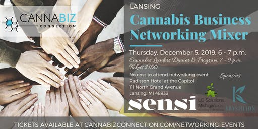 Lansing Cannabiz Connection Networking Mixer