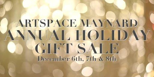 Artspace Maynard Annual HOLIDAY GIFT SALE