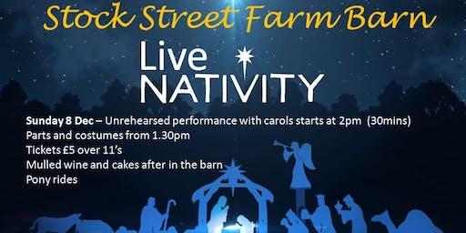Live Nativity at Stock Street Farm Barn