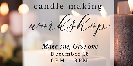Holiday Candle Class | La Valencia Hotel tickets