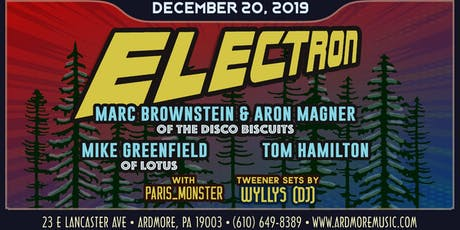 Electron: Members of The Disco Biscuits, Lotus, & JRAD tickets