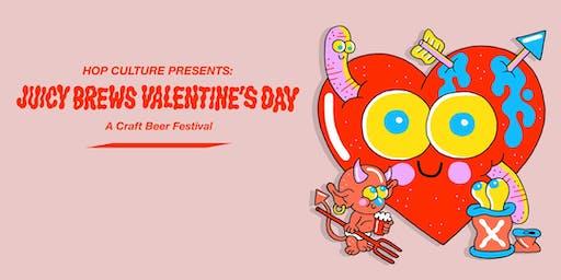 Juicy Brews Valentine's Day Craft Beer Festival