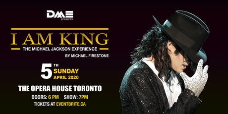 I AM KING - The Michael Jackson Experience tickets
