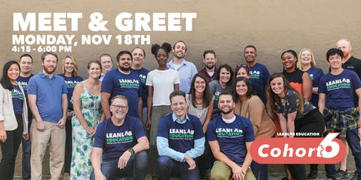 LEANLAB - Cohort 6 Meet and Greet